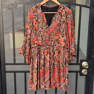 Zara Paisley Print Dress